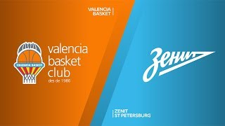Valencia Basket - Zenit St Petersburg Highlights | Turkish Airlines EuroLeague, RS Round 9
