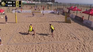 A.Mol/Sørum (NOR) vs. Alison/Bruno (BRA) Pool Play FIVB World Tour Xiamen, China (HEATED!)