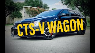 2014 Cadillac CTS-V Wagon For Sale - $45,000 - Complete review and test drive!