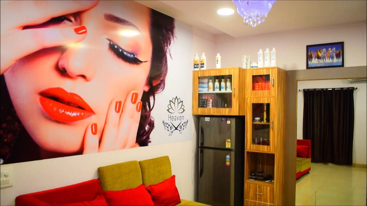 best salon in udaipur - heaven family saloon - youtube