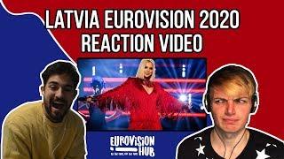 Latvia | Eurovision 2020 Reaction | Samanta Tīna  - Still Breathing