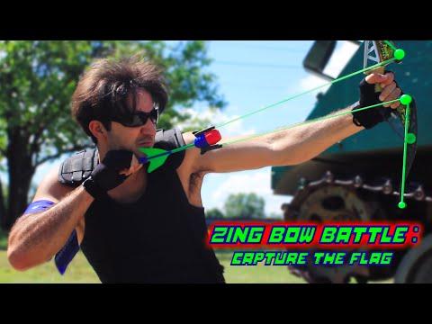 Zing Bow Battle: Capture the Flag