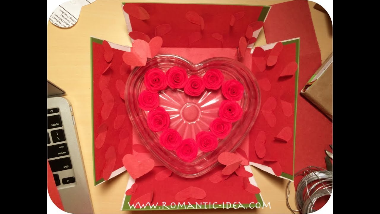 Heart Explosion Box Design Idea | Romantic-idea.com & Heart Explosion Box Design Idea | Romantic-idea.com - YouTube Aboutintivar.Com