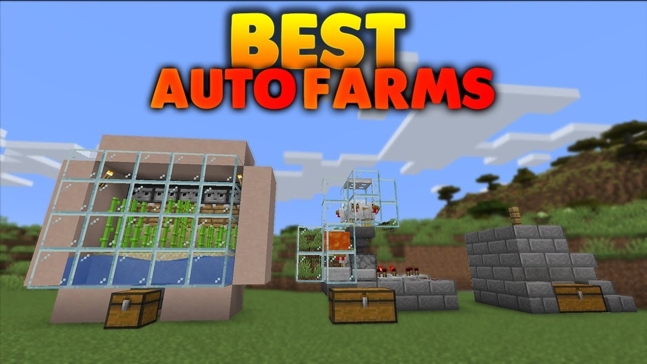 3 Easy Survival Auto Farms Easy to Make !!! - Ep3