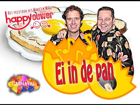 Happy Ouwer - Ei in de pan