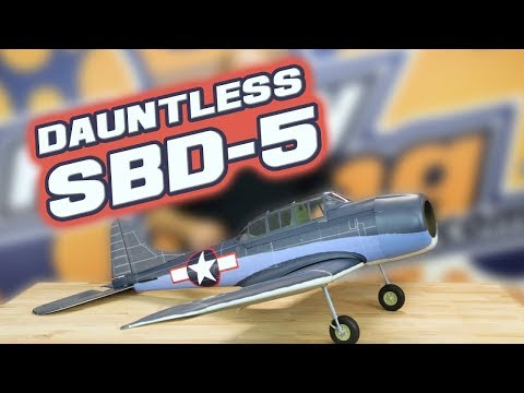 SBD Dauntless EP-GP 1540mm ARF -  New Release - HobbyKing Live