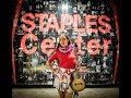 Taimane performs at STAPLES Center VLOG