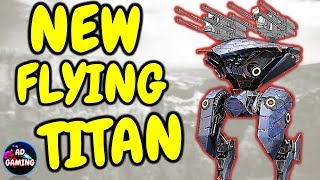 NEW FLYING TITAN AO MING Gameplay And TEST SERVER DOWNLOAD LINK - War Robots
