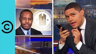 does ben carson know what slavery is the daily show   comedy central