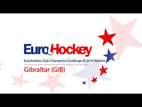 Eurohockey Club Champions Challenge III 2016 Women - Gibraltar, Day 3