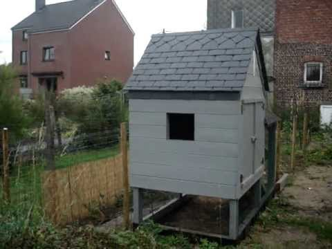 Construction de mon poulailler pour des poules qui pondent for Construction poulailler en dur