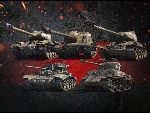 World of Tanks шикарные позиции на разных картах, гайд
