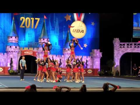 Univ of Mississippi performs in semis at UCA college nationals 1/14/17