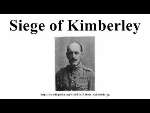 Siege of Kimberley