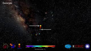 Constelaciones 3D. Escorpio