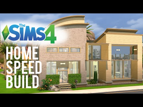 "The Sims 4 Speed Build — ""Not so Dusty Turf"" Family Home"