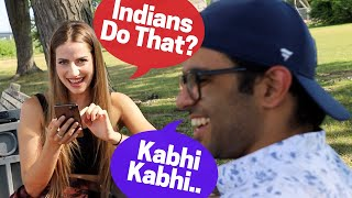 Indian Student & A Canadian Girl Check Each Other's TINDER!