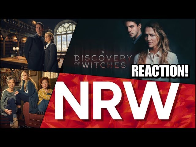 A Discovery of Witches! Trailer Reaction! #NRW! #NewReleaseWednesday! #adiscoveryofwitches!
