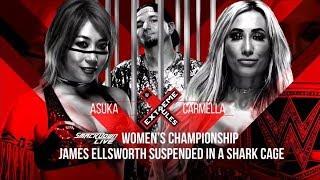 WWE 2K18 Extreme Rules 2018 SD Woman Title Carmella Vs Asuka