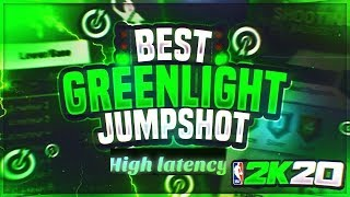 NBA 2K20 BEST HIGH LATENCY GREENLIGHT JUMPSHOT SHOOT GREENS WITH BAD INTERNET