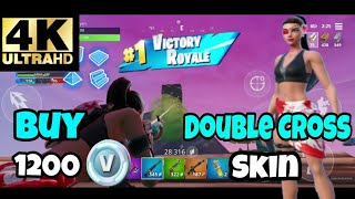 BUY THE DOUBLECROSS SKIN & GAMEPLAY | Fortnite Mobile Indonesia