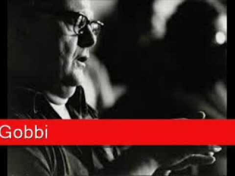 Tito Gobbi: Puccini - Il tabarro,