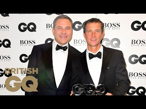Bear Grylls Accepts his TV Personality of the Year Award | Men of the Year Awards 2016 | British GQ