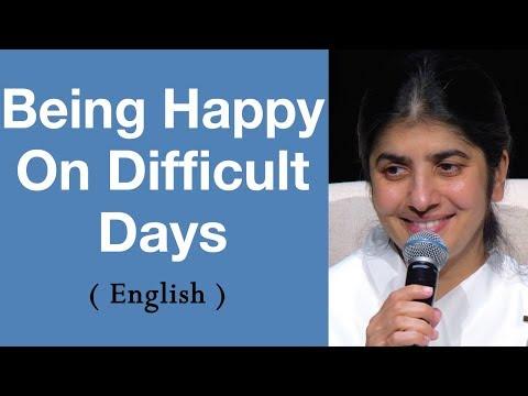 Being Happy On Difficult Days: BK Shivani At Brisbane, Australia (English)