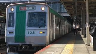 京都市営烏丸線10系KS08編成(急行奈良行き) 大和西大寺駅発車‼️