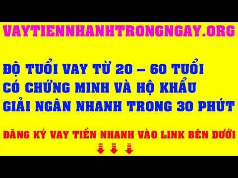Cho Vay Tiền Bằng CMND Và Sổ Hộ Khẩu | Vay Tiền Nhanh Trong Ngày