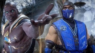 MORTAL KOMBAT 11 - Geras vs Sub-Zero High Level Gameplay #3 @ 1440p ᴴᴰ ✔