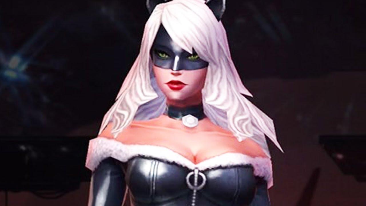 sc 1 st  YouTube & Marvel: Future Fight - Black Cat - Claw Uniform - YouTube