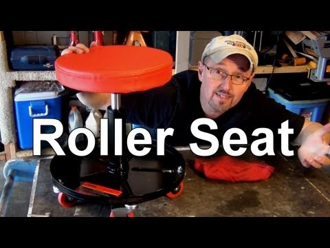 Harbor Freight Pneumatic Roller Seat