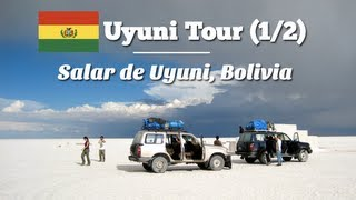 Uyuni Tour (1/2): Salar de Uyuni, Bolivia (Travel Video Blog 043)