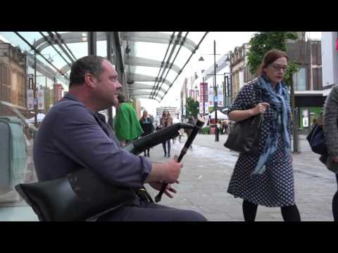 Neil the Piper filmed by Michael Boyers