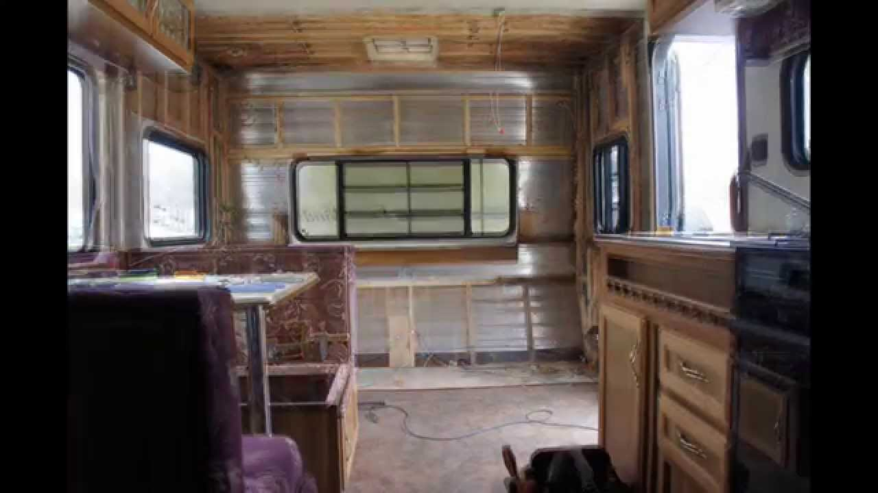 Alice Makeover Ep 2 The Travel Trailer Gut In A Blink