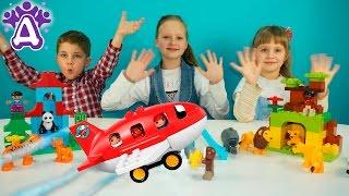 Играем конструктором ЛЕГО ДУПЛО - Вокруг света. Видео для детей.Игры для детей.LEGO DUPLO for kids.(Сегодня мы будем играть конструктором ЛЕГО ДУПЛО - Вокруг света. LEGO DUPLO - Around the world. Конструктор Lego Duplo