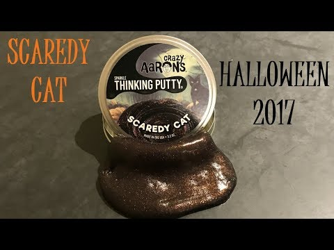 Crazy Aaron's Scaredy Cat Thinking Putty
