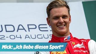 Schumi-Sohn fährt ab 2021 in der Formel 1 | Mick: Diese Tipps gab mir mein Vater