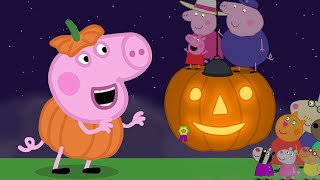 Peppa Pig Official Channel  Peppa Pig's Giant Pumpkin Competition