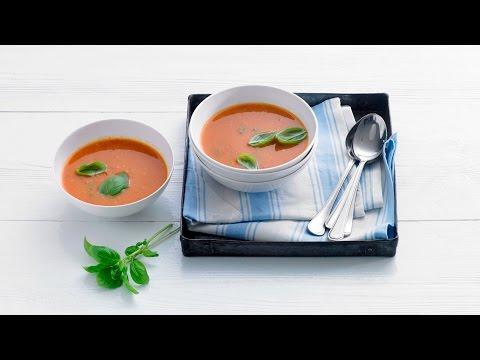 Tomatensoep met verse basilicum – Allerhande