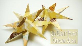 3d Origami Starfish Ornament | Nekkoart