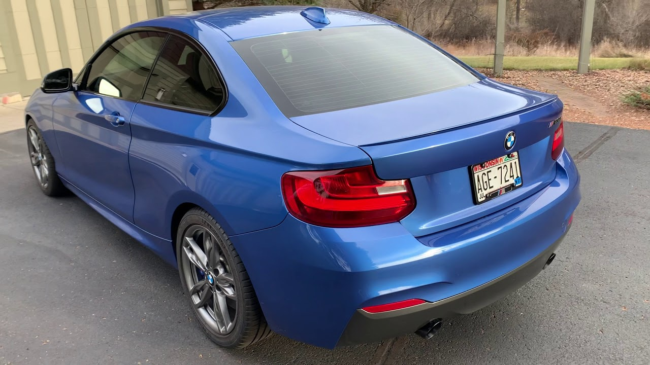 2016 Bmw M235i Coupe Auction Cars Bids