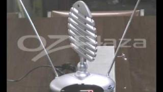 Indoor infra-red Remote-Controlled Rotating Antenna with Amplifier 008