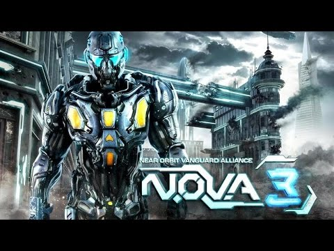 N.O.V.A. 3 Freedom Edition Android GamePlay Trailer (1080p)