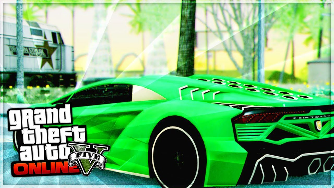 GTA 5 Online: Pegassi Zentorno Full Customization (GTA 5 ...