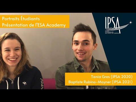 Deux IPSAliens selectionnés par l'ESA Academy