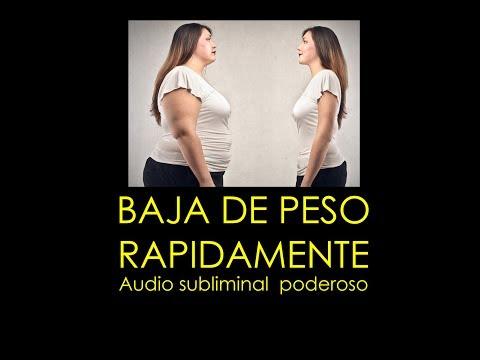 BAJA DE PESO RÁPIDAMENTE - SUBLIMINAL PODEROSO