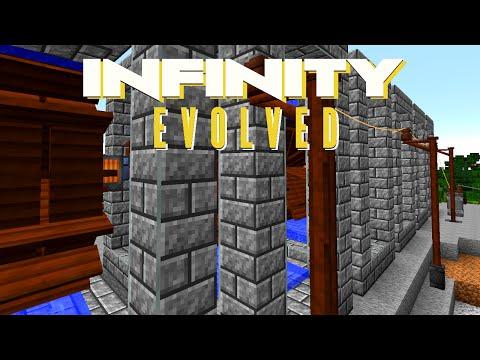 Minecraft Mods FTB Infinity Evolved - POWER TRANSMISSION [E17] (Modded Expert Mode)