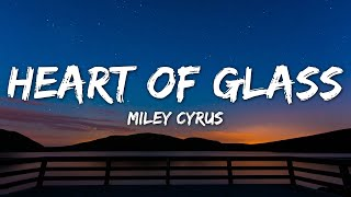 Miley Cyrus - Heart Of Glass (Lyrics) Live from the iHeart Music Festival